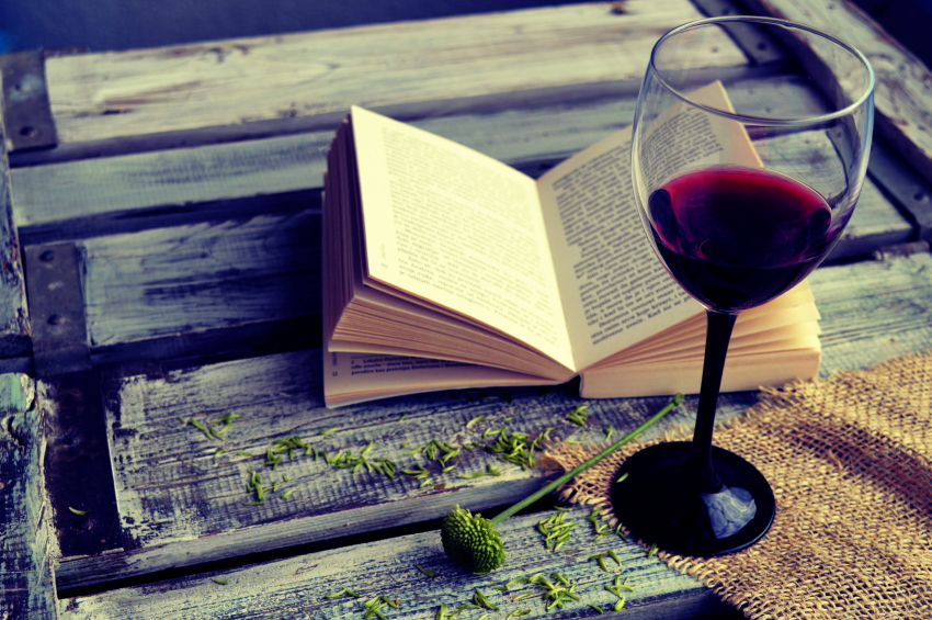 Wine and a Book iStock_000053001050_Small