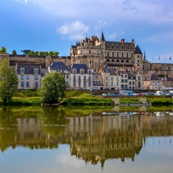 Scenic view of Amboise castle