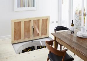Original Spiral Cellar with Recessed Trap Door for Timber (2)