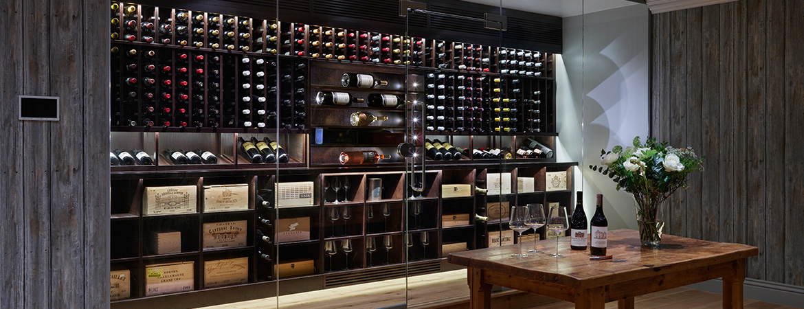 Wine Rooms Amp Walls Innovative Wine Cellar Design