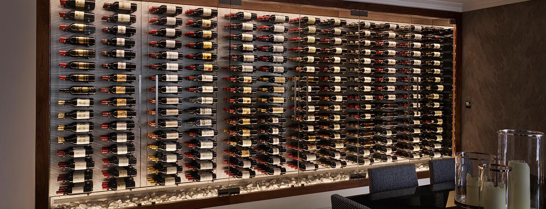 Wine Rooms & Walls | Innovative Wine Cellar Design | Spiral Cellars