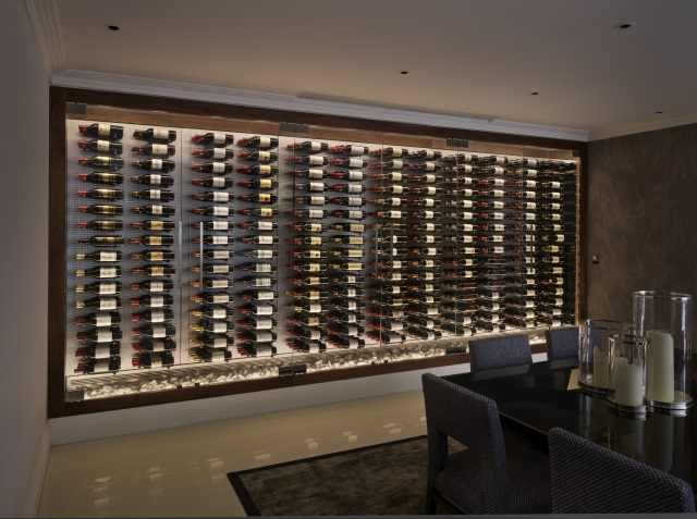 Spiral Cellars Wine Room