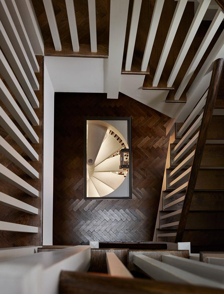 Spiral Cellars Staircase