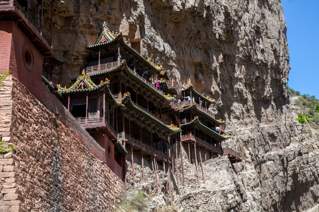 xuan kong monastery in Shanxi province,China
