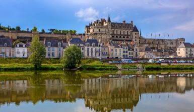 Scenic view of Amboise castle