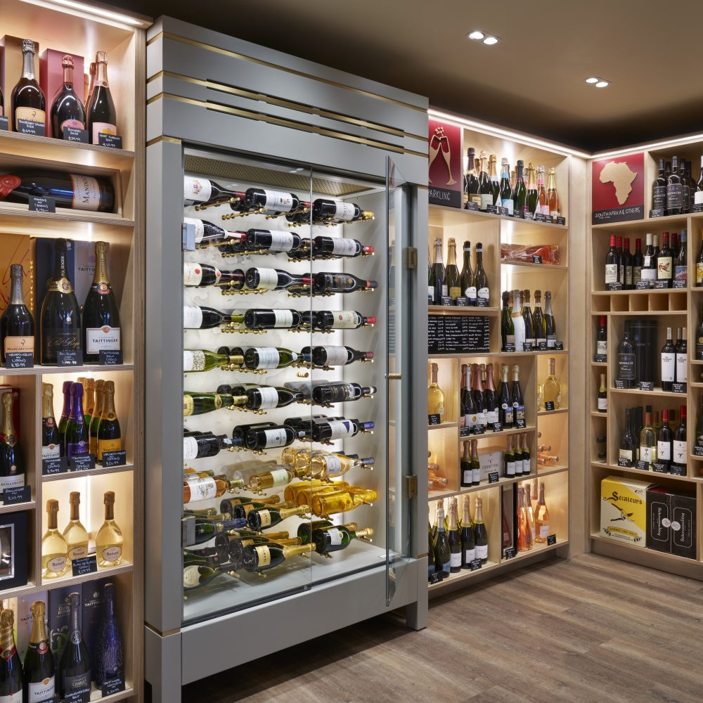 Wine Cabinet within wine room
