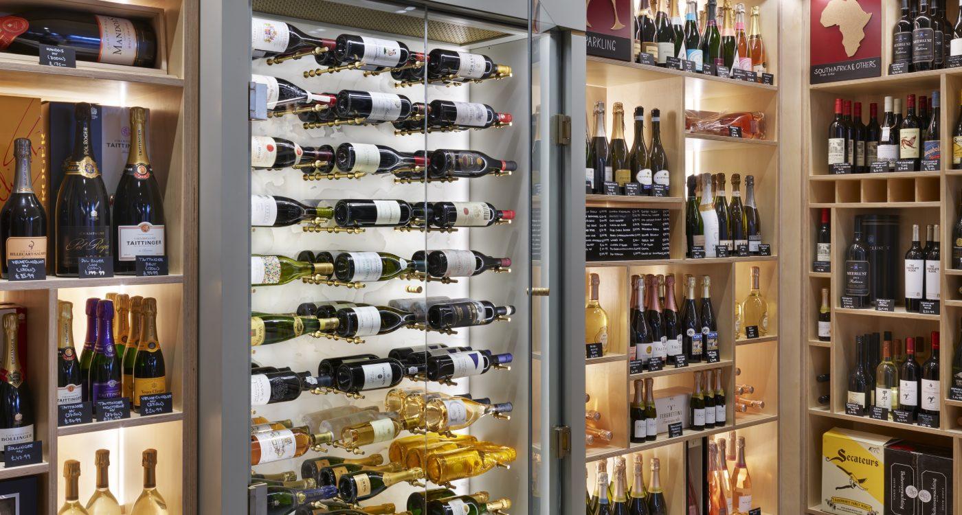 Wine Cabinet within wine room