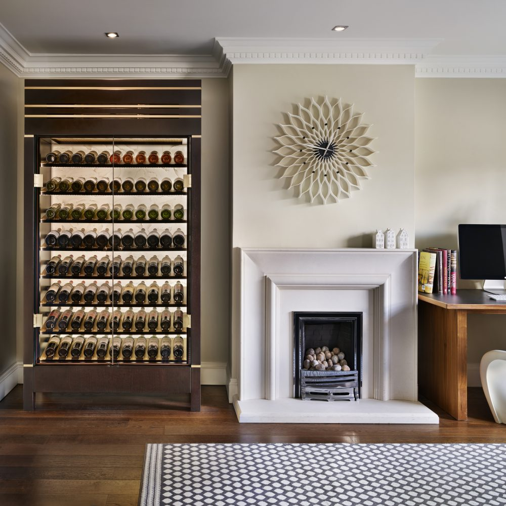 Wine Cabinet with backlight