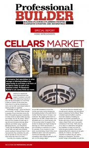 Preview of Professional Builder article on Spiral Cellars
